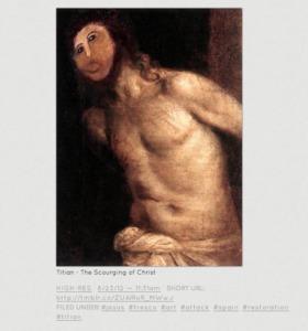 """フレスコ画の""""修復後""""がさまざまなコラ画像に 名画も川越シェフも修復される"""