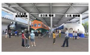 京都・梅小路で国内最大級の「鉄道博物館」2016年春に誕生 SLや新幹線など50両展示