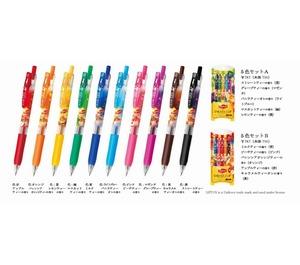 リプトンの紅茶の香りをインクに配合したボールペン 全10種類、ゼブラが9/19発売