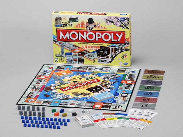 """ボードゲーム「モノポリー」大阪環状線版、5,000個限定で発売 イベントカードに""""ICOCA""""もの画像"""