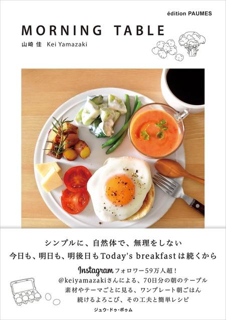 "Instagramから生まれた""ワンプレート朝ごはん""レシピブック 簡単レシピや写真のテクニックもの画像"