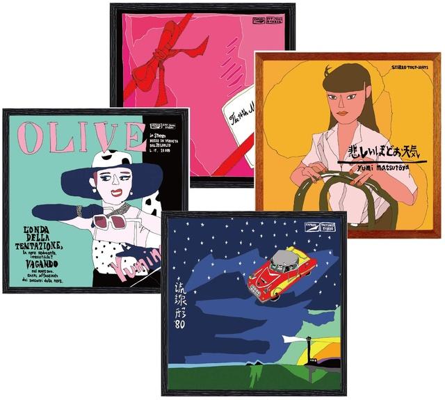 ロフトとユーミンのコラボ企画、10/13から 名曲をイメージした雑貨コーナーやオリジナルグッズが登場