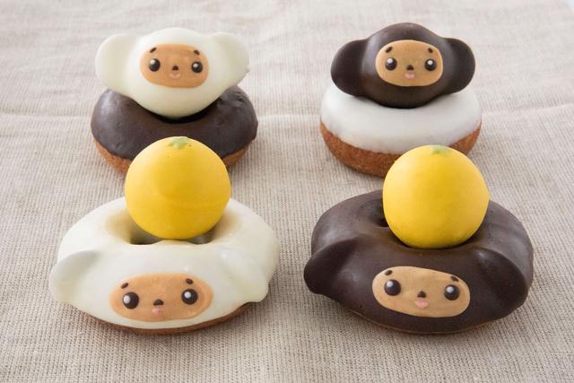 「チェブラーシカ」のかわいいドーナツがフロレスタに 11/1から全4種を順次販売の画像