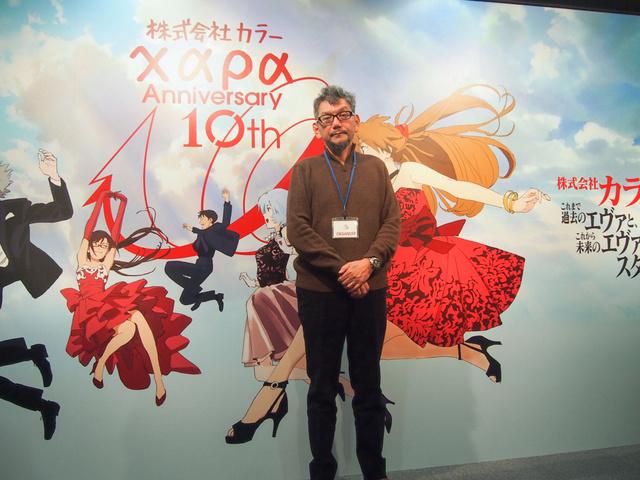 """エヴァの""""過去""""と""""未来"""" スタジオカラー10周年記念展で、庵野秀明さんが語ったこと"""
