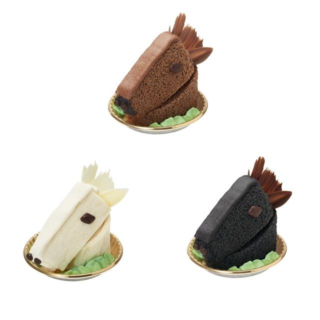 中山競馬場に馬顔の「馬ケーキ」登場 女性向けスペースで期間限定販売