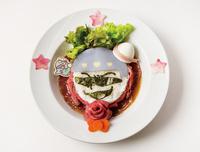 """おそ松さん×サンリオのコラボカフェが西武池袋本店に カラ松×タキシードサムの""""肉食系""""ローストビーフ丼など"""