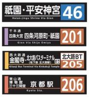 市バス方向幕タオルや太秦萌グッズも! 京都市交通局オリジナルグッズの取扱店舗を拡大