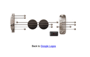 "Google、6/9の""弾けるギターロゴ""永久保存版を公開 録音機能も"