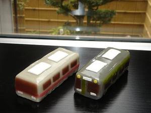 京都の地下鉄車両が「ようかん」に  開業30周年記念で京都市交通局が商品化