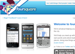 foursquare、MyTown、ケータイ国盗り合戦 2010年はジオメディアの年?