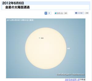日食グラス、まだ捨てないで! 6/6に日本全国で「金星の太陽面通過」