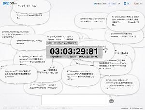 サマーウォーズの仮想世界「OZ」のようにつぶやきを共有するWebサービス 京都の学生らが制作